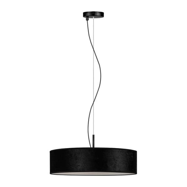 Czarna lampa wisząca Bulb Attack Quince