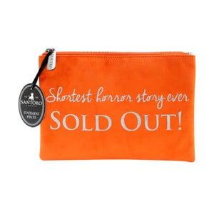 Oranžové dámské psaníčko Statement Pieces Sold Out, 24 x 17 cm