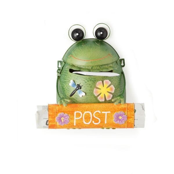 Zielona skrzynka na listy Brandani Frog