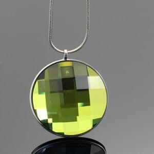 Náhrdelník Swarovski Mirror Green