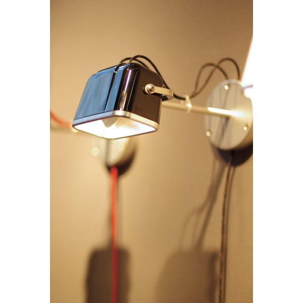 Nástěnná lampa SwabDesign Mob, černá