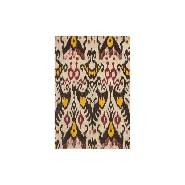 Vlněný koberec Maraca Ikat, 121x182 cm