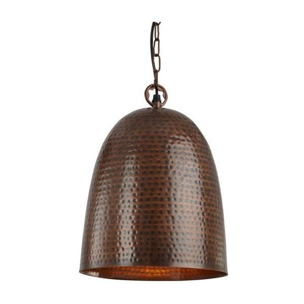 Stropní světlo Brown Bell, hnědá