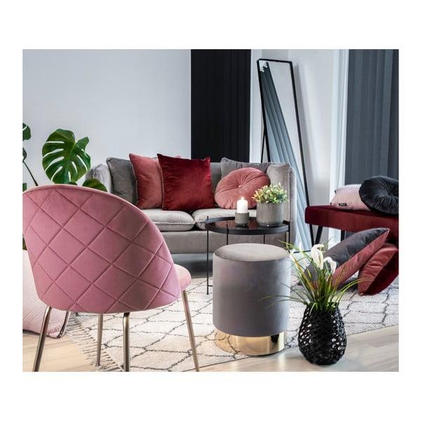 Set 2 scaune House Nordic Geneve, roz