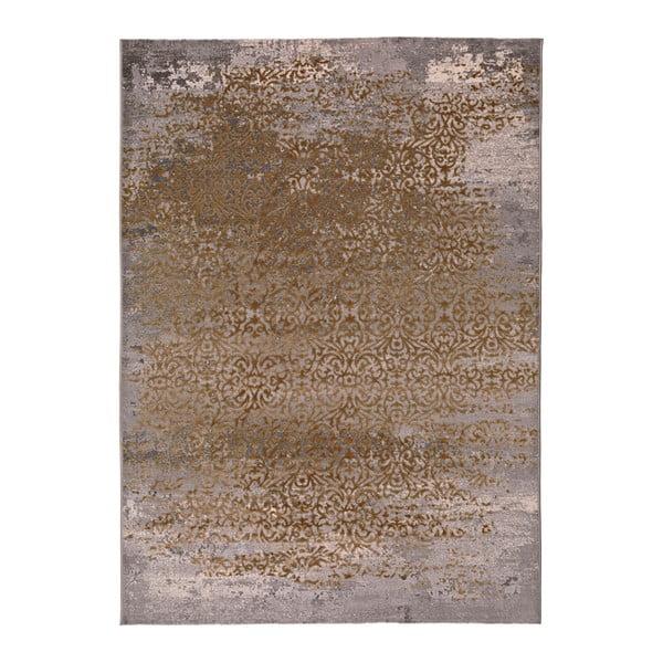 Šedo-zlatý koberec Universal Danna Gold, 120 x 170 cm