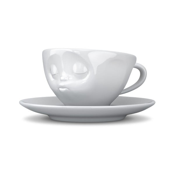 Fehér csókos kávéscsésze, 200 ml - 58products