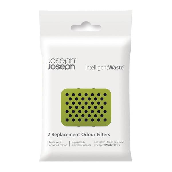Zestaw 2 wymiennych filtrów węglowych Joseph Joseph IntelligentWaste Odour Filters