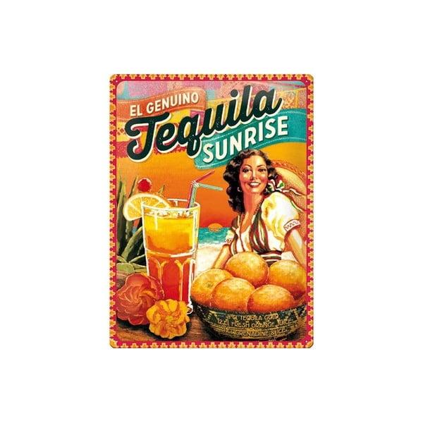 Plechová cedule Tequila, 30x40 cm