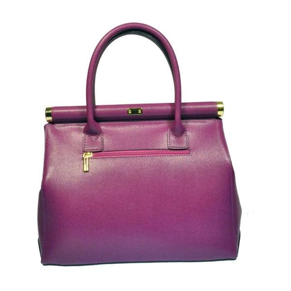 Kožená kabelka Bast Purple