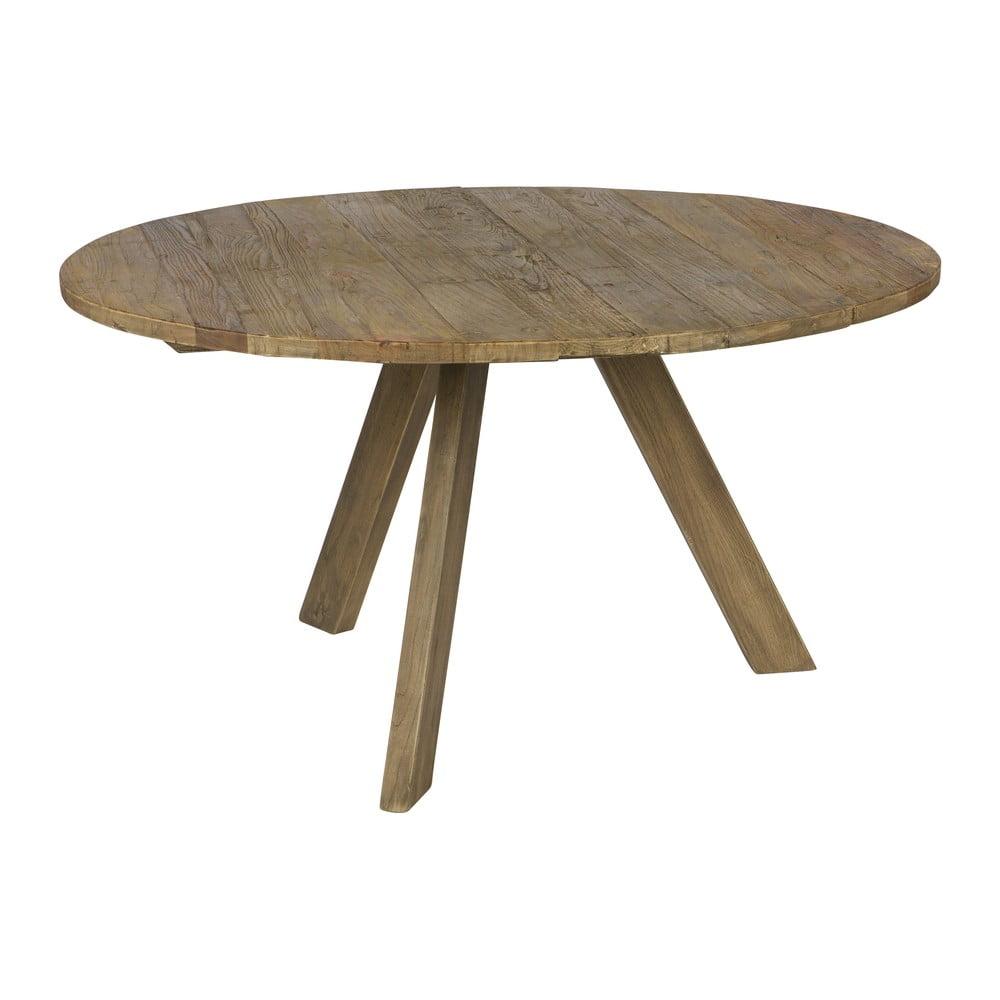 Jídelní stůl z jilmového dřeva BePureHome Tondo, ⌀ 140 cm