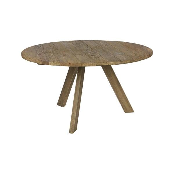 Masă din lemn de ulm BePureHome Tondo, ⌀ 140 cm