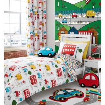 Lenjerie de pat pentru copii Catherine Lanfsield Cars, 135 x 200 cm imagine