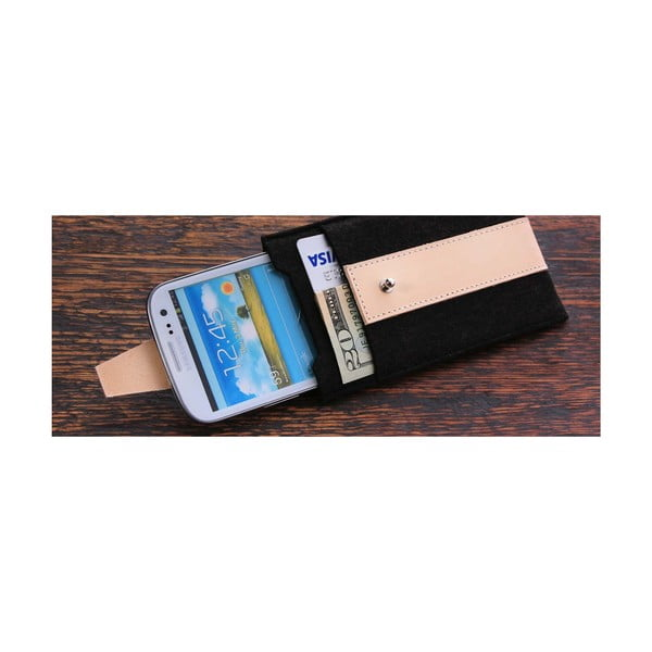 Pouzdro na Samsung Galaxy S4 Cream
