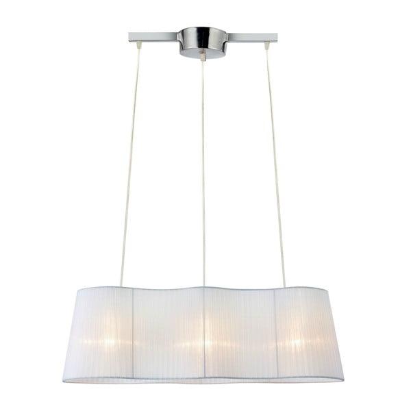 Bílé závěsné světlo Markslöjd Vinsingso 76 cm