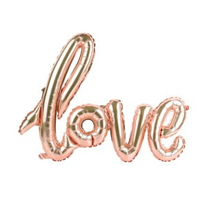 Nafukovací balón s nápisem Le Studio Love