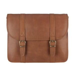 Kožená taška Hove Chestnut