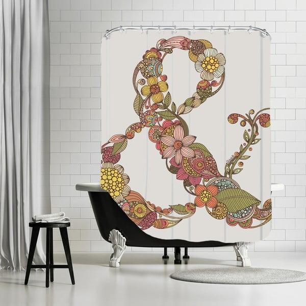 Koupelnový závěs Ampersand, 180x180 cm