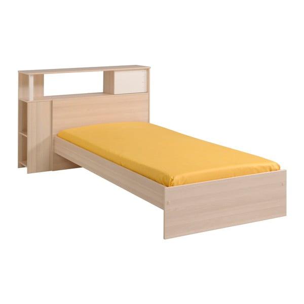 Jednolůžková postel v dekoru akáciového dřeva Parisot Austina, 90x190cm