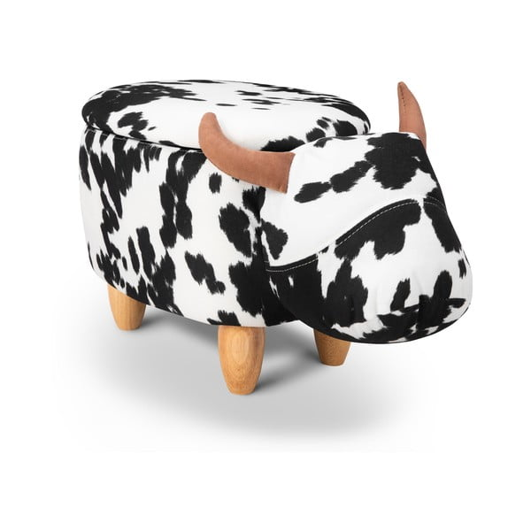 Taburet cu spațiu pentru depozitare KICOTI Bull