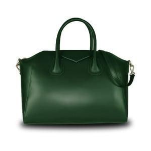 Zelená kabelka z pravé kůže JOHN FISH Lamar