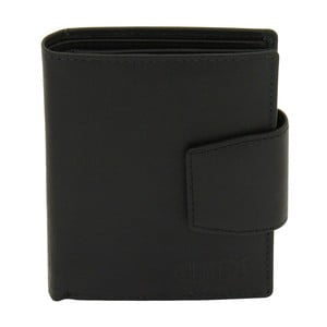 Dámská černá kožená peněženka Friedrich Lederwaren Hunter