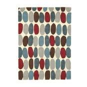 Vlněný koberec Sofia Red Teal 120x170 cm