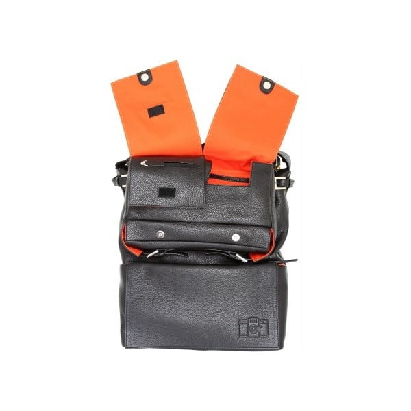 Kožená taška Sidekick Bag Black
