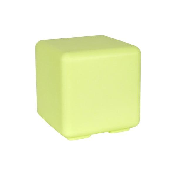 Fluorescenční stolek Cubo, zelený