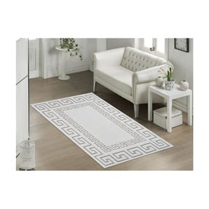 Béžový odolný bavlněný koberec Vitaus Versace Bej, 100x200cm