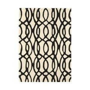 Vlněný koberec Matrix Wire White 120x170 cm