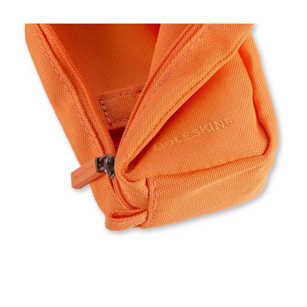 Oranžová univerzální kapsička Moleskine, 8x12 cm