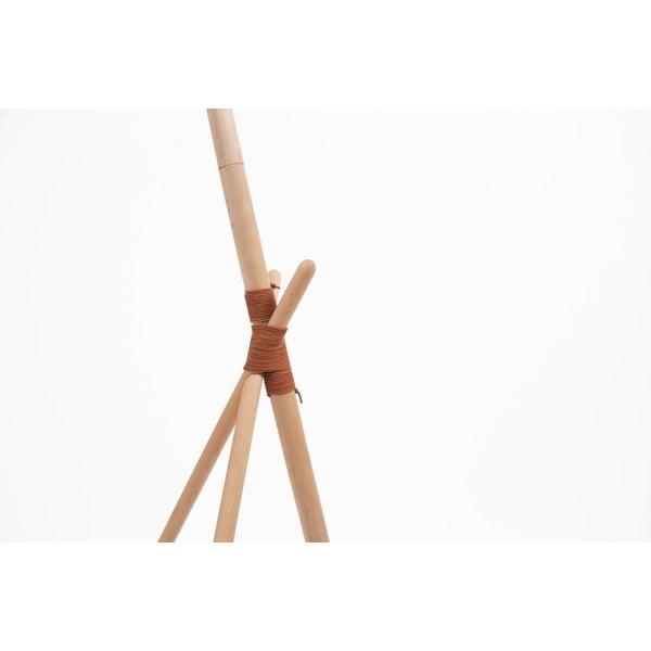 Bílá volně stojící lampa Woodendot Ka L