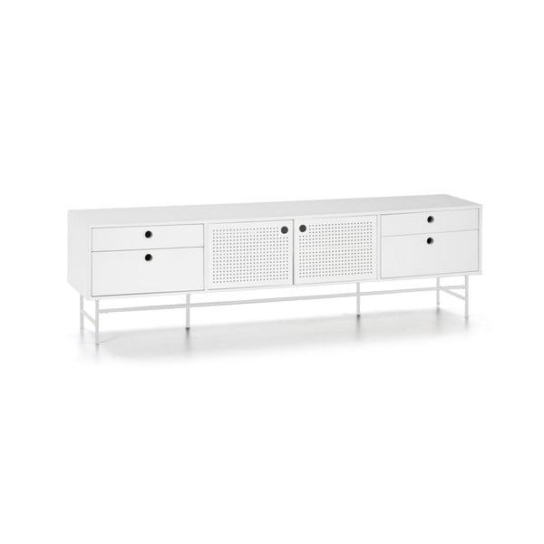 Biely televízny stolík Teulat Punto