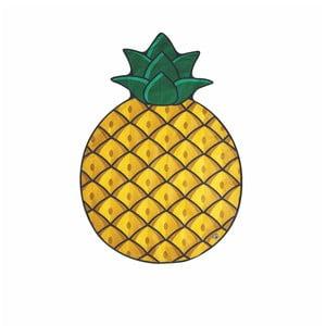 Plážová deka ve tvaru ananasu Big Mouth Inc., 172cmx122cm