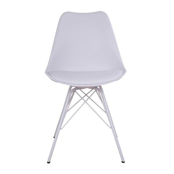 Sada 2 bílých židlí House Nordic Oslo