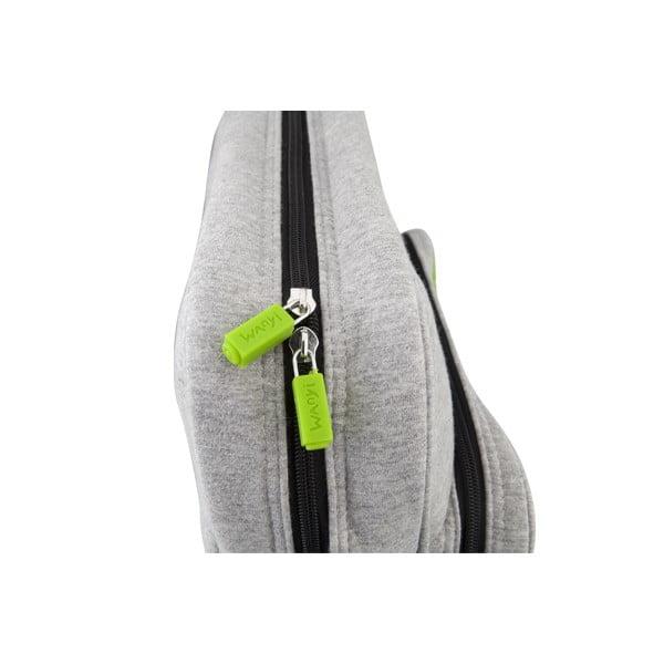 Pixelová taška přes rameno, grey/grey