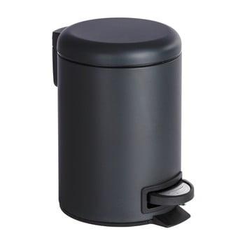 Coș deșeuri Wenko Leman, 3L, negru imagine