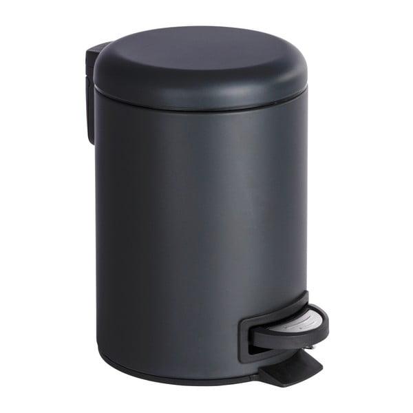 Coș deșeuri Wenko Leman, 3L, negru