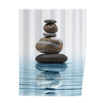 Perdea duș Wenko Balance, 180 x 200 cm imagine