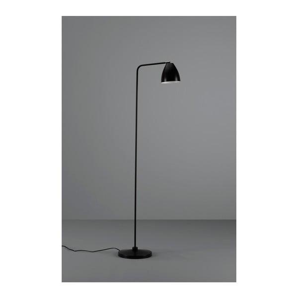 Černá stojací lampa Design Twist Cervasca