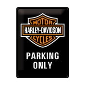 Retro plechová cedule Harley Davidson, 30x40 cm