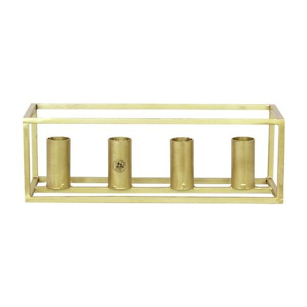 Adventní svícen Brass
