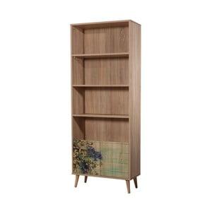 Dřevěná skříň Mando Flower