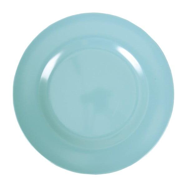Set tří talířů, 25 cm, aqua