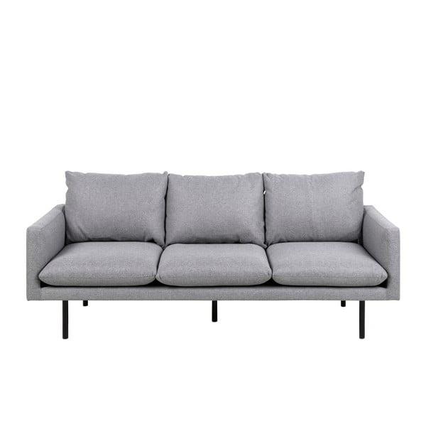 Canapea cu 3 locuri Actona Carolina, gri deschis