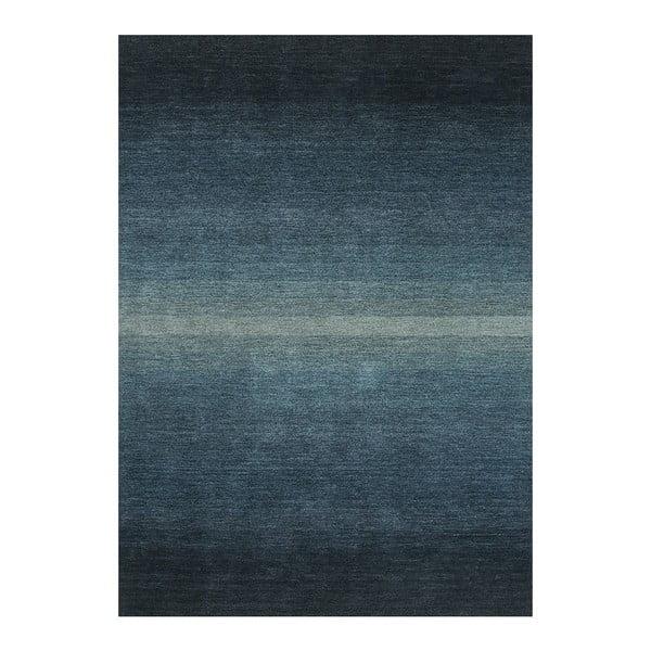 Vlněný koberec Graduation Jade, 140x200 cm