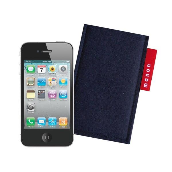 Plstěný obal na iPhone 4/4S, navy blue
