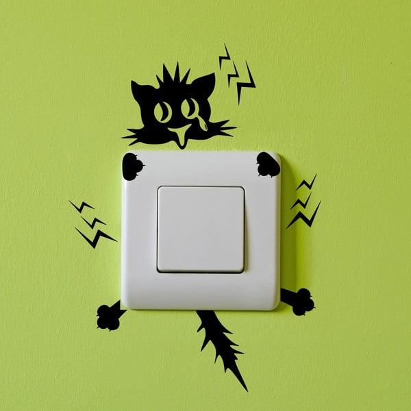 Samolepka Ambiance Plug Kitten Electro