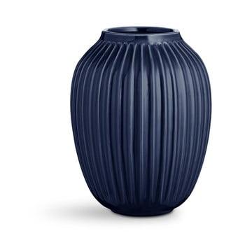 Vază din ceramică Kähler Design Hammershoi,înălțime 25 cm, albastru închis