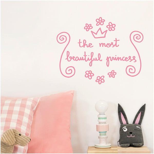 Dekorativní samolepka na zeď Beautiful Princess